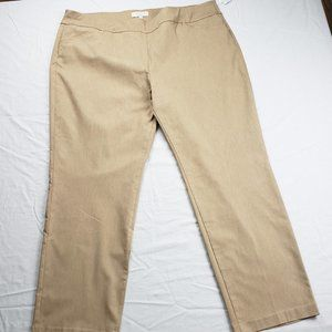 TALBOTS Slimming Stretch Cropped Pants NWT